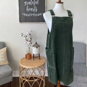 Vintage NY Jeans Corduroy Overall Dress